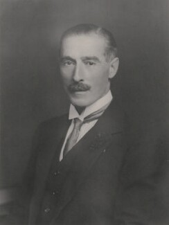 Sir Nevile Meyrick Henderson, by Walter Stoneman - NPG x21740
