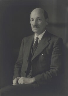 Clement Attlee, by Walter Stoneman - NPG x21930
