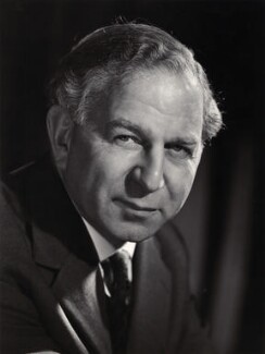 Solly Zuckerman, Baron Zuckerman, by Walter Bird - NPG x21937