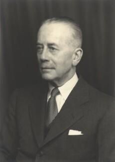Sir Alexander George Montagu Cadogan, by Walter Stoneman - NPG x21952