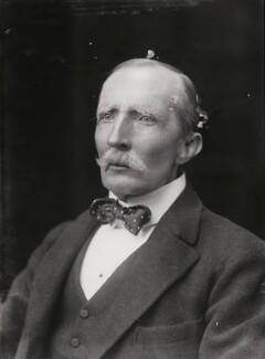 Sir George Dashwood Taubman Goldie, by Walter Stoneman - NPG x24081