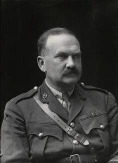 Sir James William Greig, by Walter Stoneman - NPG x24090