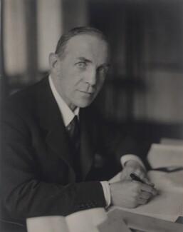 Roundell Cecil Palmer Wolmer, 3rd Earl of Selborne, by Walter Stoneman - NPG x24097