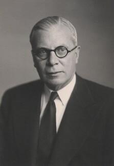 Oliver Frederick George Stanley, by Walter Stoneman - NPG x27466