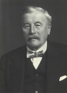 Sir William Mitchell Acworth, by Walter Stoneman, 1925 - NPG x27672 - © National Portrait Gallery, London