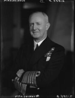 Andrew Browne Cunningham, Viscount Cunningham, by Walter Stoneman - NPG x31547