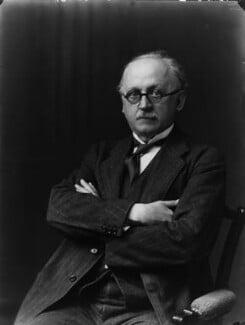 Sir Edwin Lutyens, by Walter Stoneman, 1924 - NPG x31551 - © National Portrait Gallery, London