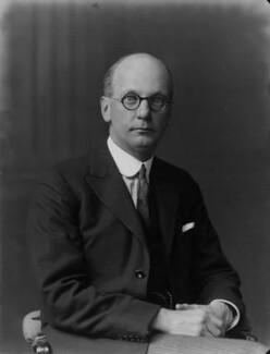 Sir Giles Gilbert Scott, by Walter Stoneman - NPG x31555