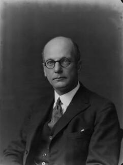 Sir Giles Gilbert Scott, by Walter Stoneman - NPG x31556