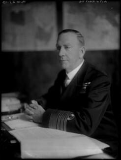 Sir Noel Frank Laurence, by Walter Stoneman - NPG x32609