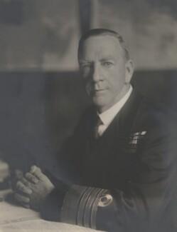 Sir Noel Frank Laurence, by Walter Stoneman - NPG x32611