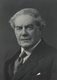 Charles Benjamin Bright McLaren, 1st Baron Aberconway, by Walter Stoneman - NPG x38244