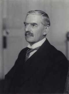 Neville Chamberlain, by Walter Stoneman, May 1937 - NPG x38790 - © National Portrait Gallery, London