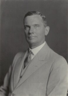 Sir Mark Aitchison Young, by Walter Stoneman - NPG x38805