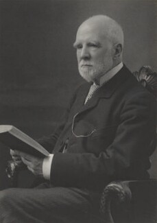 Eugene Stock, by Walter Stoneman, for  James Russell & Sons - NPG Ax39036