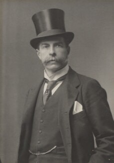 Edward Strachey, 1st Baron Strachie, by Walter Stoneman, for  James Russell & Sons - NPG Ax39075