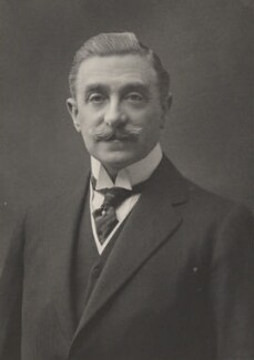 Sir Maurice Levy, by Walter Stoneman, for  James Russell & Sons - NPG Ax39084
