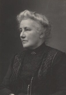 Louise Creighton, by Walter Stoneman, for  James Russell & Sons - NPG Ax39099