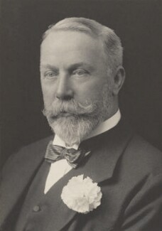 James William Lowther, 1st Viscount Ullswater, by Walter Stoneman, for  James Russell & Sons, circa 1916 - NPG Ax39102 - © National Portrait Gallery, London