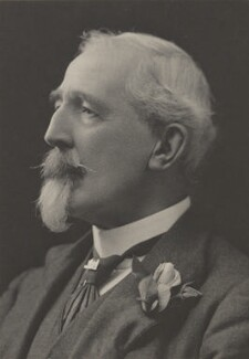 Harold Lee-Dillon, 17th Viscount Dillon, by Walter Stoneman, for  James Russell & Sons - NPG Ax39103