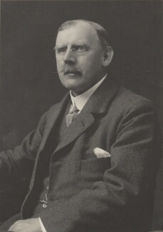 Alfred Laurence Felkin, by Walter Stoneman, for  James Russell & Sons - NPG Ax39119