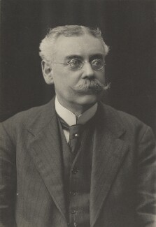 Percy W. Ames, by Walter Stoneman, for  James Russell & Sons, circa 1916 - NPG Ax39152 - © National Portrait Gallery, London
