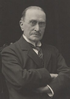 Sir John Scott Keltie, by Walter Stoneman, for  James Russell & Sons, circa 1916 - NPG Ax39188 - © National Portrait Gallery, London