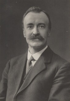 Sir Frank Goldstone, by Walter Stoneman, for  James Russell & Sons - NPG Ax39197