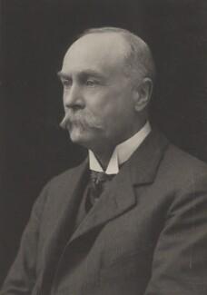 Sir Reginald Theodore Blomfield, by Walter Stoneman, for  James Russell & Sons - NPG Ax39221