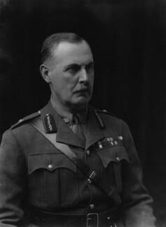 Sir George Mark Watson MacDonogh, by Walter Stoneman - NPG x43440