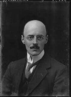 Sir Owen Willans Richardson, by Walter Stoneman - NPG x43483