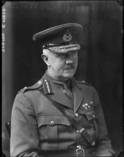 Sir Frederick Barton Maurice, by Walter Stoneman - NPG x43776
