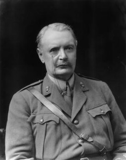 Sir Douglas Bernard Hall, 1st Bt, by Walter Stoneman - NPG x43819