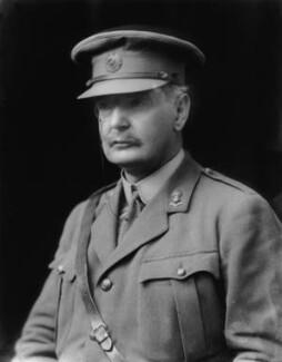 Sir Douglas Bernard Hall, 1st Bt, by Walter Stoneman - NPG x43820