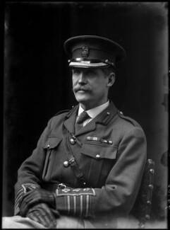 Gerald Charles Adolphe Marescaux, by Walter Stoneman - NPG x44058