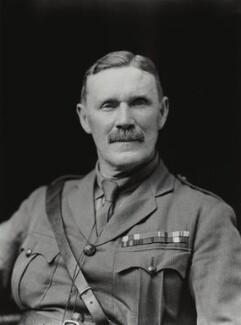 Sir Eric John Eagles Swayne, by Walter Stoneman - NPG x44375