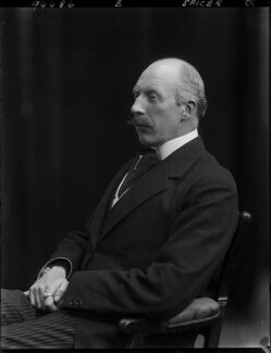 Sir Howard Spicer, by Walter Stoneman - NPG x44401