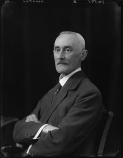 Sir Alexander Cruikshank Houston, by Walter Stoneman - NPG x44431