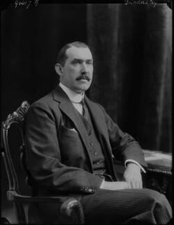 Robert Molesworth Kindersley, 1st Baron Kindersley, by Walter Stoneman, 1918 - NPG x44520 - © National Portrait Gallery, London