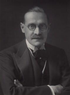 George Herbert Hyde Villiers, 6th Earl of Clarendon, by Walter Stoneman - NPG x44875