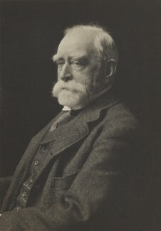 Sir Edward John Poynter, 1st Bt, by James Russell & Sons - NPG Ax46102