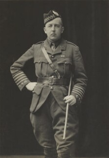 Niall Diarmid Campbell, 10th Duke of Argyll, by Walter Stoneman, for  James Russell & Sons - NPG Ax46111