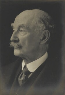 Thomas Hardy, by Walter Stoneman, for  James Russell & Sons - NPG Ax46127