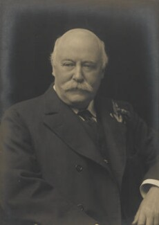 Sir (Charles) Hubert Hastings Parry, 1st Bt, by Walter Stoneman, for  James Russell & Sons - NPG Ax46144