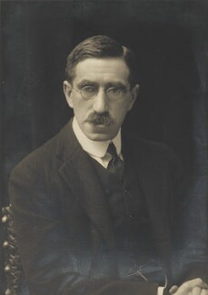 Sir Lionel Abrahams, by Walter Stoneman, for  James Russell & Sons, circa 1916 - NPG Ax46154 - © National Portrait Gallery, London