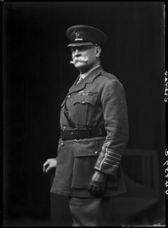 Sir Frederick Treves, 1st Bt, by Walter Stoneman, 1918 - NPG x65226 - © National Portrait Gallery, London
