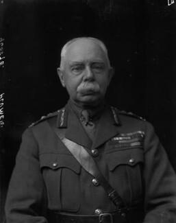 Herbert Plumer, 1st Viscount Plumer, by Walter Stoneman, 1918 - NPG x65458 - © National Portrait Gallery, London
