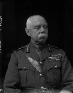 Herbert Plumer, 1st Viscount Plumer, by Walter Stoneman, 1918 - NPG x65459 - © National Portrait Gallery, London