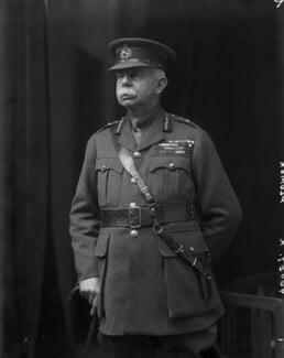 Herbert Plumer, 1st Viscount Plumer, by Walter Stoneman, 1918 - NPG x65461 - © National Portrait Gallery, London