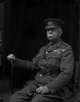 Herbert Plumer, 1st Viscount Plumer, by Walter Stoneman, 1918 - NPG x65462 - © National Portrait Gallery, London